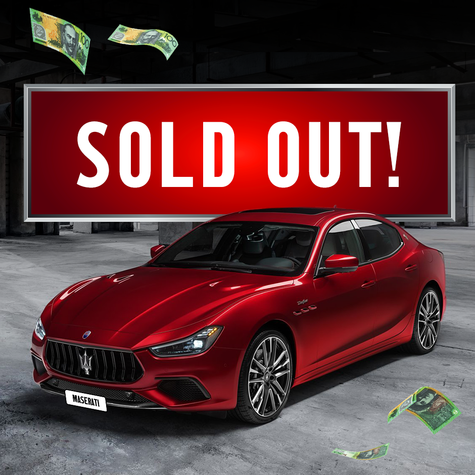 MSWA Luxury Lottery Sold Out
